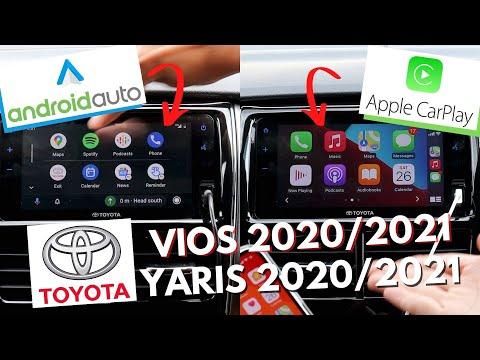 TOYOTA VIOS / YARIS 2020 / 2021 ANDROID AUTO APPLE CARPLAY TUTORIAL | TIPS & TRICKS | HOW TO | MY