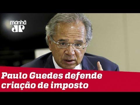 Sem citar CPMF, Guedes volta a defender imposto sobre transações