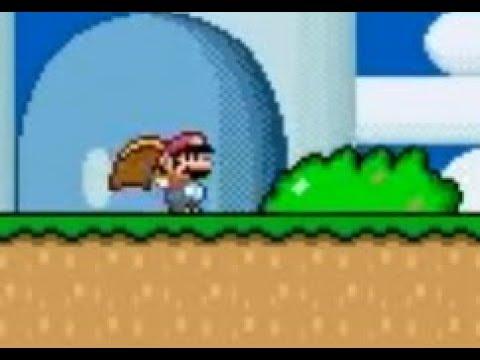 <b>Super Mario World</b> (SNES): Small Cape <b>Mario</b> using <b>Game Genie codes</b> ...