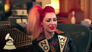 Repeat youtube video Bonnie McKee Discusses Her First GRAMMY Nomination | GRAMMYs