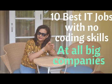 Best IT Jobs With No Coding Skills | Non Programming Jobs For Computer Science Graduates And MCA