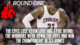 A look at the Cavs and Warriors NBA Finals threematch