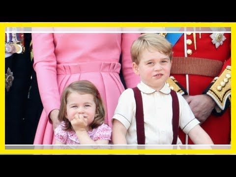 Princess Charlotte Adorably Bosses Prince George Around, Says The Queen