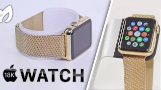 "Apple Watch ""Edition"" por $399 (Baño de Oro 18K)"