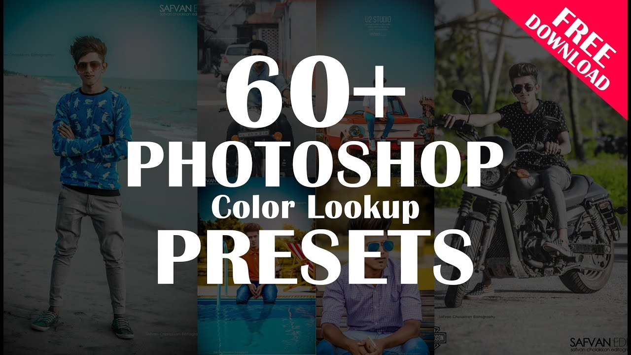 60+ photoshop color lookup presets free download