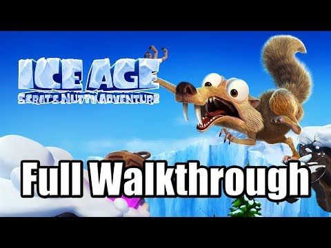 Ice Age: Scrat's Nutty Adventure (2019) PS4 Gameplay Full Game Walkthrough (No Commentary)