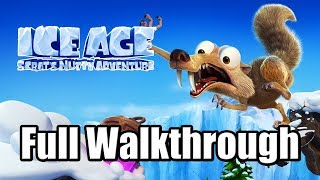 Ice Age: Scrat's Nutty Adventure (2019) PS4 Gameplay Full Walkthrough (No Commentary)