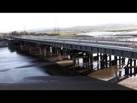 Reflections at Loughor Bridge 09/01/2013