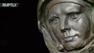 видео Памятник Юрию Гагарину