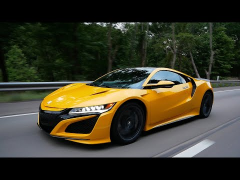 The 2020 Acura NSX is a Supercar From The Future