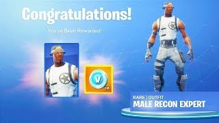 The New MALE RECON EXPERT SKIN in Fortnite.. (Male Recon Expert)