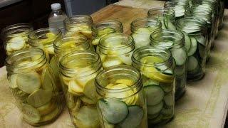 Canning: Zucchini and Squash