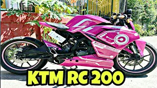 World's First Fully Modified KTM RC 200 By Eugene Saysay | Part 2