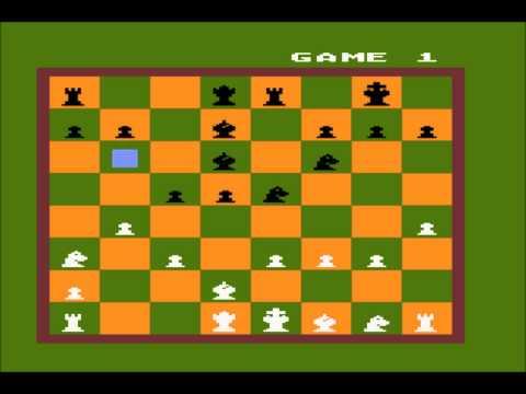 Computer Chess for the Atari 8-bit family