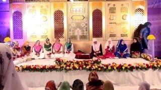 aadha idhar aadha udhar madiha nazar meo house annual milad 2016