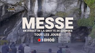 Messe de 10h à Lourdes du 13 août 2021