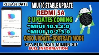 Redmi 5a 10 1 2 0 Oreo UPDATE Blocked   Volte Network Bugs