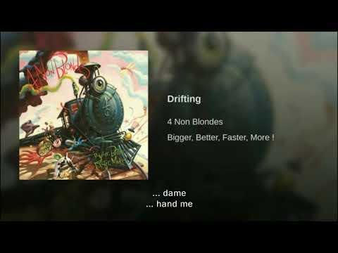 4 Non Blondes Drifting Traducida Al Español