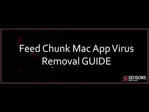 Feed Chunk App Mac Virus Removal GUIDE