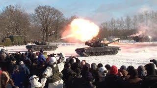 100-летие образования Красной Армии в Ивангороде 24.02.2018