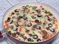 طريقة عمل البيتزا بيتزا فى 5 دقائق بدون عجن وبدون فرن/البيتزا السائلة في المقلاة ألذ وأسرع بيتزا لرمضان 2018 فيديو من يوتيوب