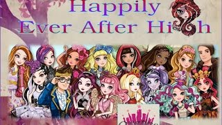 "Happily Ever After High | Trailer ""New Show"" - Real Live Monster High- Creative Princess"
