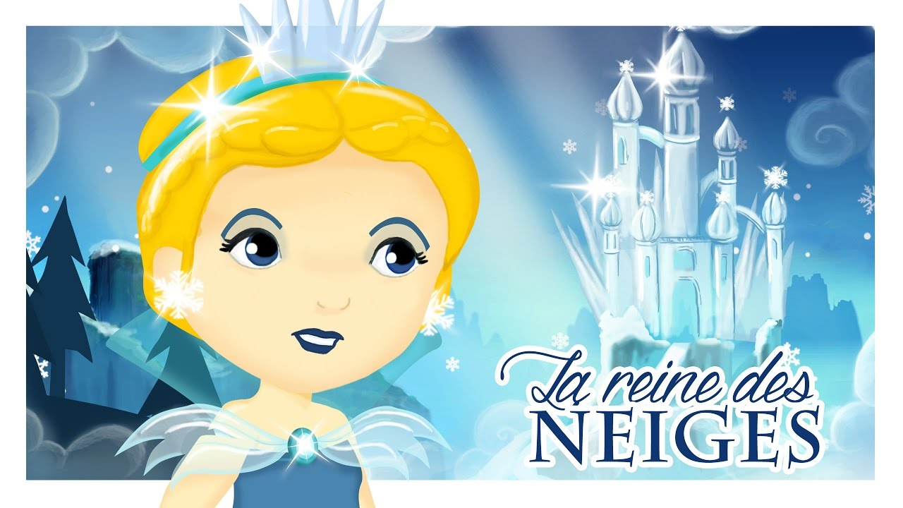 la reine des neiges l 39 histoire d 39 andersen en dessin anim titounis youtube. Black Bedroom Furniture Sets. Home Design Ideas