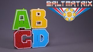 Mech Clan Transforming English Letters FOR KIDS!!!: A B C D