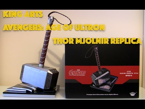 King Arts Avengers: Age of Ultron Mjolnir Replica Thor Hammer Review