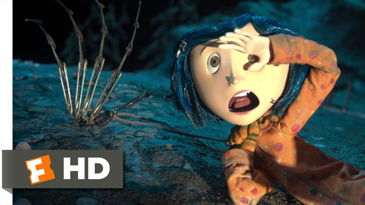 Boy And Girl Doll Wallpaper Hd Coraline 10 10 Movie Clip The Creepy Hand 2009 Hd