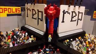Lego Taylor Swift Concert (Lego Film)