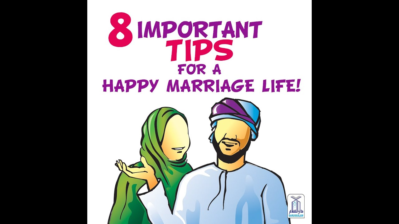 Important Tips for a Happy Marriage Life