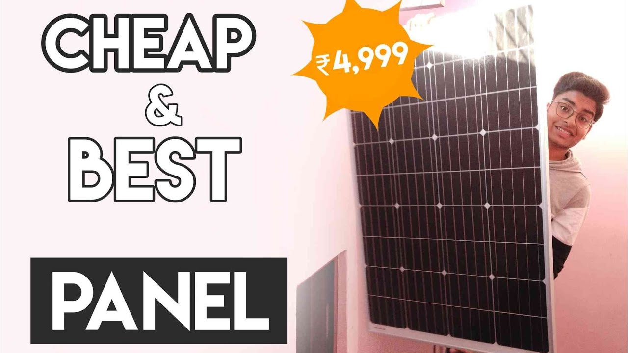 Cheap and Best Monocrystalline Solar Panels in India 2019 | Loom Solar  Panel Review & Unboxing