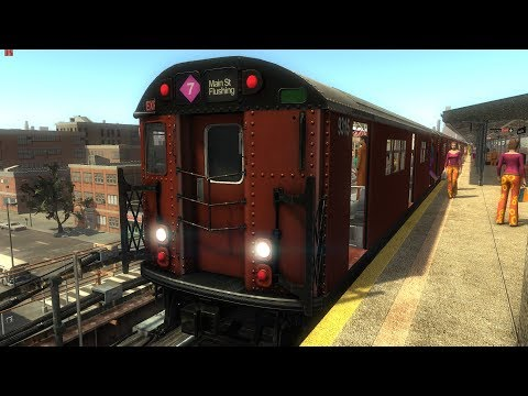 World Of Subways Vol. 4 - New York Line 7 () The 2:50 Express To Queens