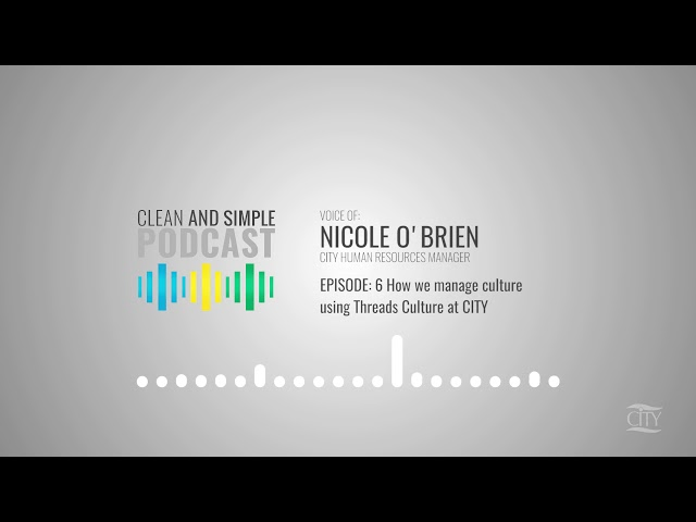 Episode 6 - How we manage culture with Threads Culture at CITY: CITY Culture