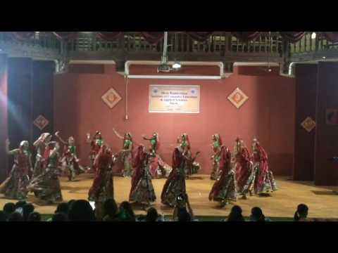 Winner of folk dance competition | choreography by jay zaveri | ghoomer, garba & dandiya