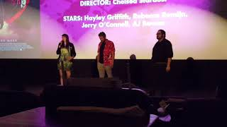 Satanic Panic Intro By Chelsea Stardust And AJ Bowen At Alamo Drafthouse