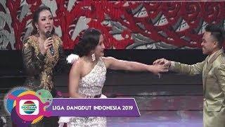 KOCAK!! Joget Grobak Dorong Ala Soimah Bikin Teh Widi Bergoyang - LIDA 2019