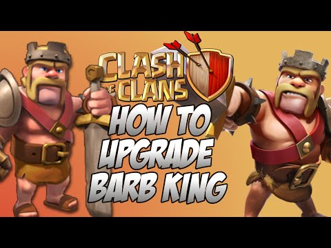 How To Upgrade Barbarian King EXTREMELY FAST! Clash of Clans ( February 2015)