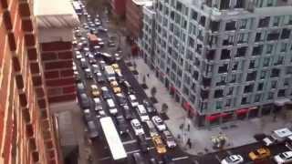Mad Manhattan Traffic