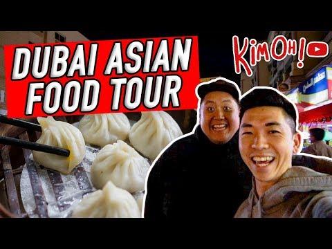 DUBAI CHEAP ASIAN Food Tour! Dubai'da Asya Yemek Turu!