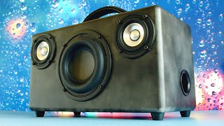 DIY 2.1 Portable Boombox Build | HOW TO
