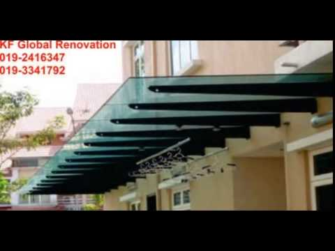 Wrought Iron Awning Gate Grill Services In Kajang Bangi Cheras Shah Alam