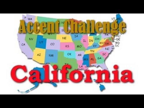 The California Accent | Accent Challenge