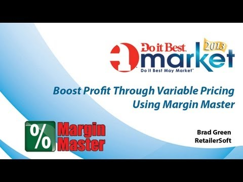 Boost Profit Through Variable Pricing Using Margin Master