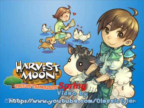 Harvest Moon Tree Of Tranquility 02- Spring