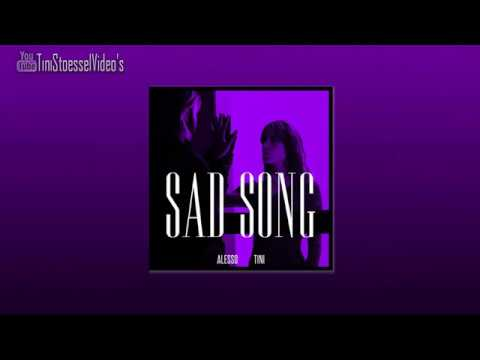 Alesso Ft. TINI - Sad Song  [English/Türkçe Lyrics]