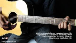 Gloc-9 - Lando feat. Francis M - Guitar Tutee Chords (with lyrics)