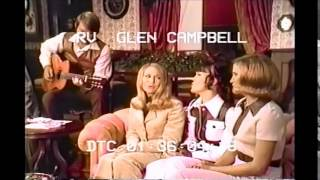Glen Campbell & sisters - Goodtime Hour Christmas 1970