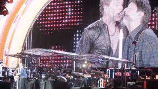 Bon Jovi - Bad Medicine / Pretty Woman / Shout [medley] (live) @ OAKA Athens Greece 2011